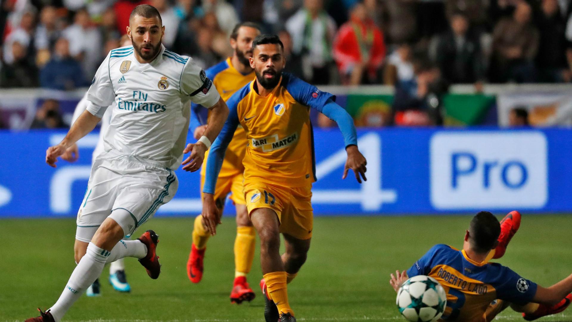 Karim Benzema APOEL Real Madrid Champions League
