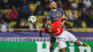 Djibril Sidibe Dusko Tosic Monaco Besiktas UEFA Champions League 17102017