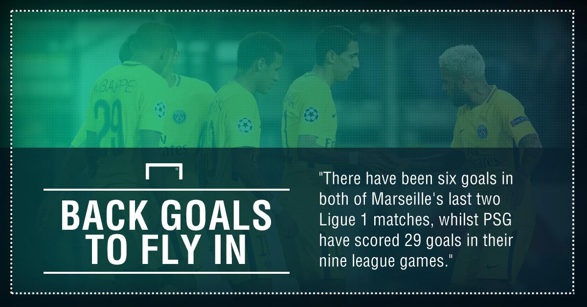 Marseille PSG graphic