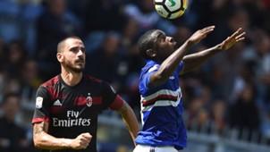 Bonucci Zapata Sampdoria Milan Serie A