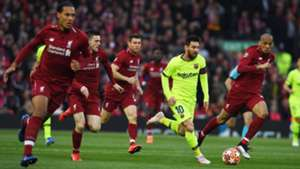 Lionel Messi FC Liverpool FC Barcelona Champions League 07052019