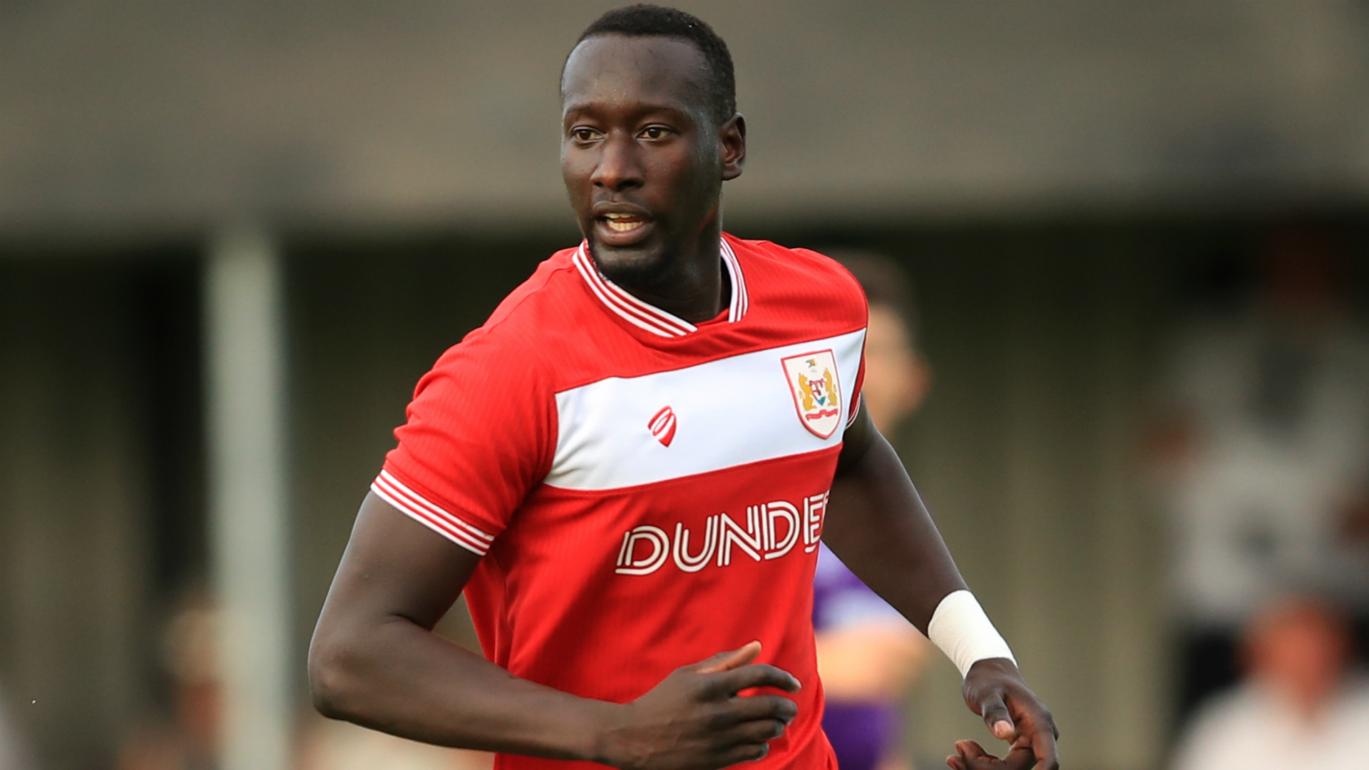 Famara Diedhiou - Bristol City v Cheltenham Town - Pre-Season Friendly