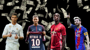Footballers with the highest weekly wages in the world