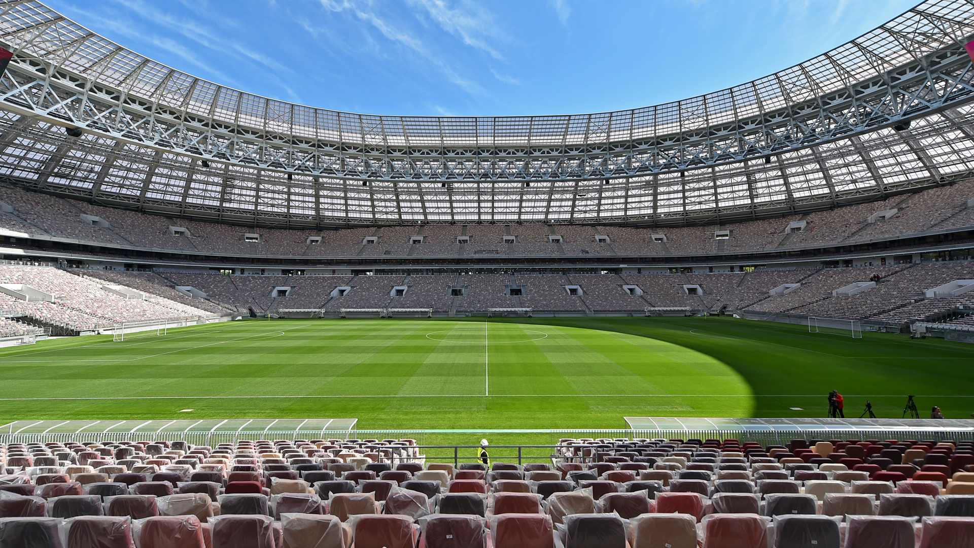 WM 2018 Russland Stadion Moskau Luzhniki
