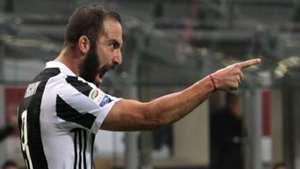 Gonzalo Higuain Milan Juventus