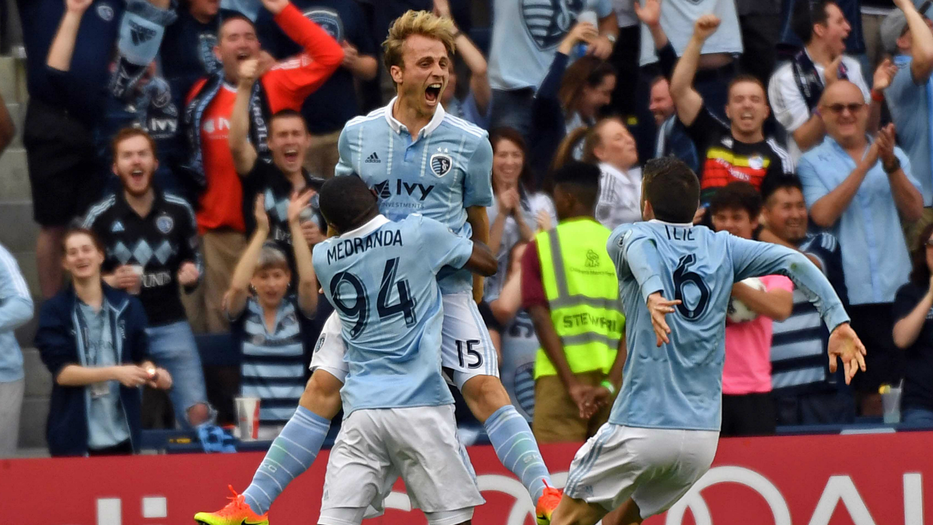 Seth Sinovic Jimmy Medranda Sporting Kansas City