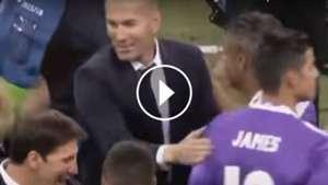 VIDEO PLAY Zidane James Rodriguez Real Madrid 03062017