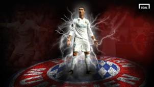 GFX Cristiano Ronaldo Real Madrid FC Bayern