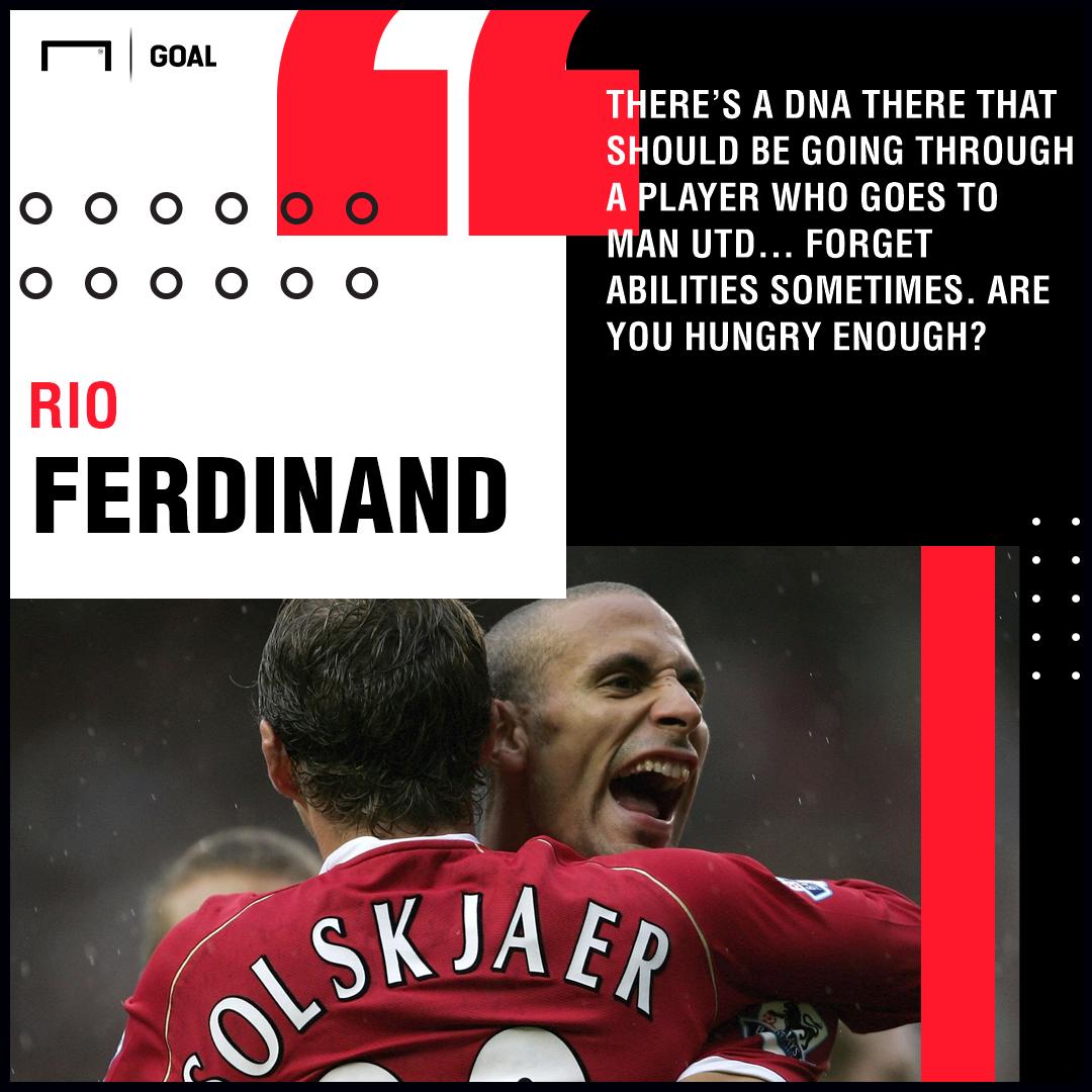 GFX Rio Ferdinand 'Manchester United DNA'