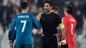 Gianluigi Buffon Cristiano Ronaldo 03042018