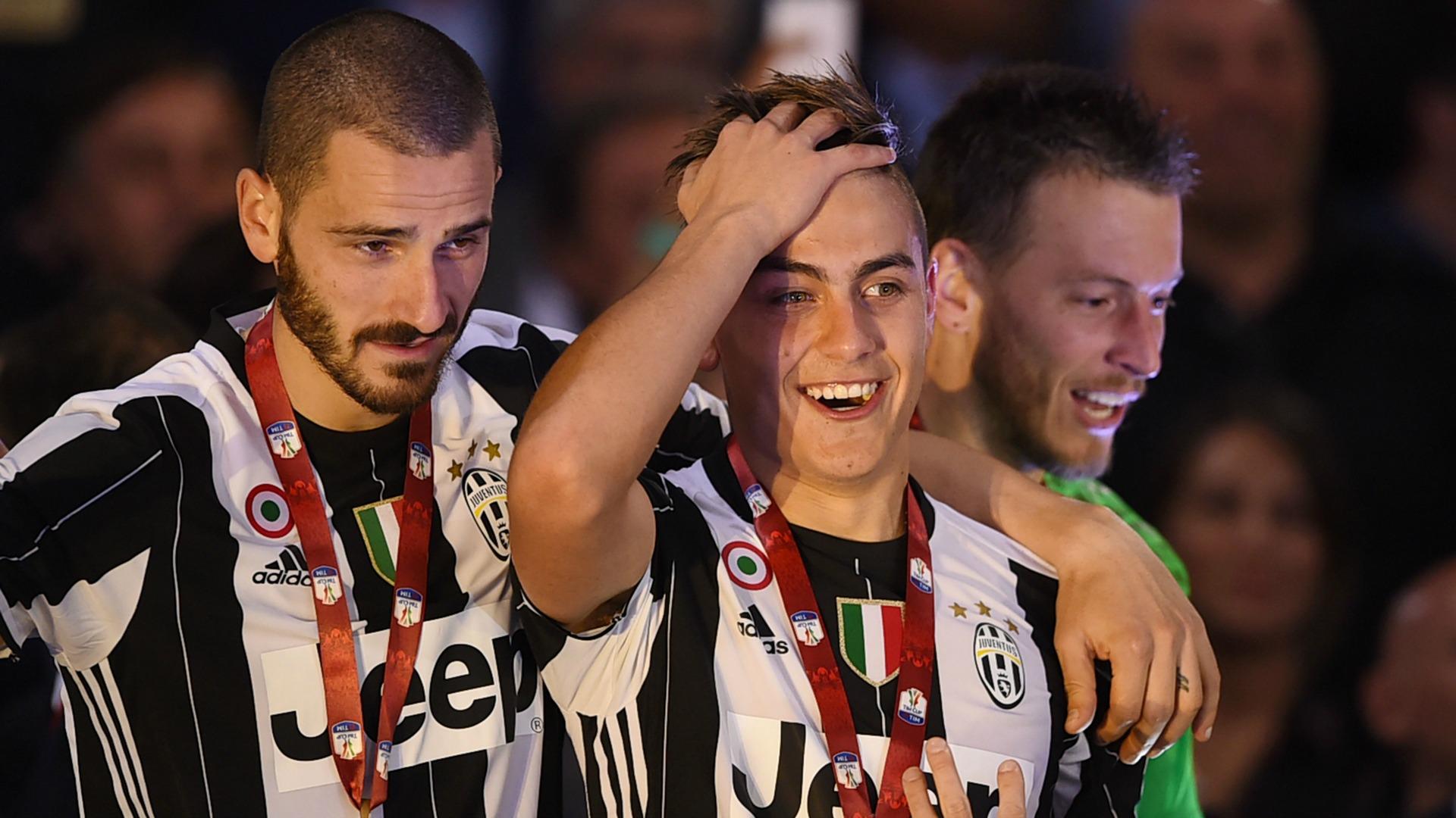 Leonardo Bonucci Paulo Dybala Juventus