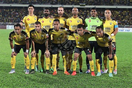 Perak first eleven against Pahang 21/1/2017