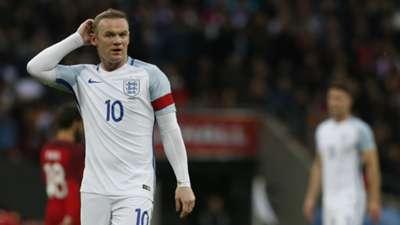 Wayne Rooney England Portugal 02062016