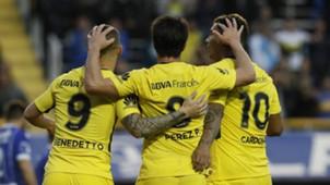 Benedetto Perez Cardona Boca Godoy Cruz Superliga Argentina Fecha 3