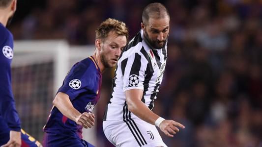Higuain Barcelona Juventus Champions League