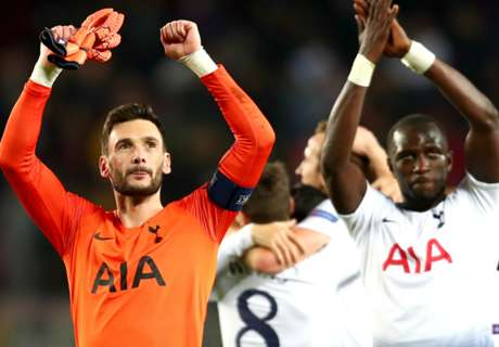 Lloris full of confidence after Barca draw seals Spurs' last 16 place