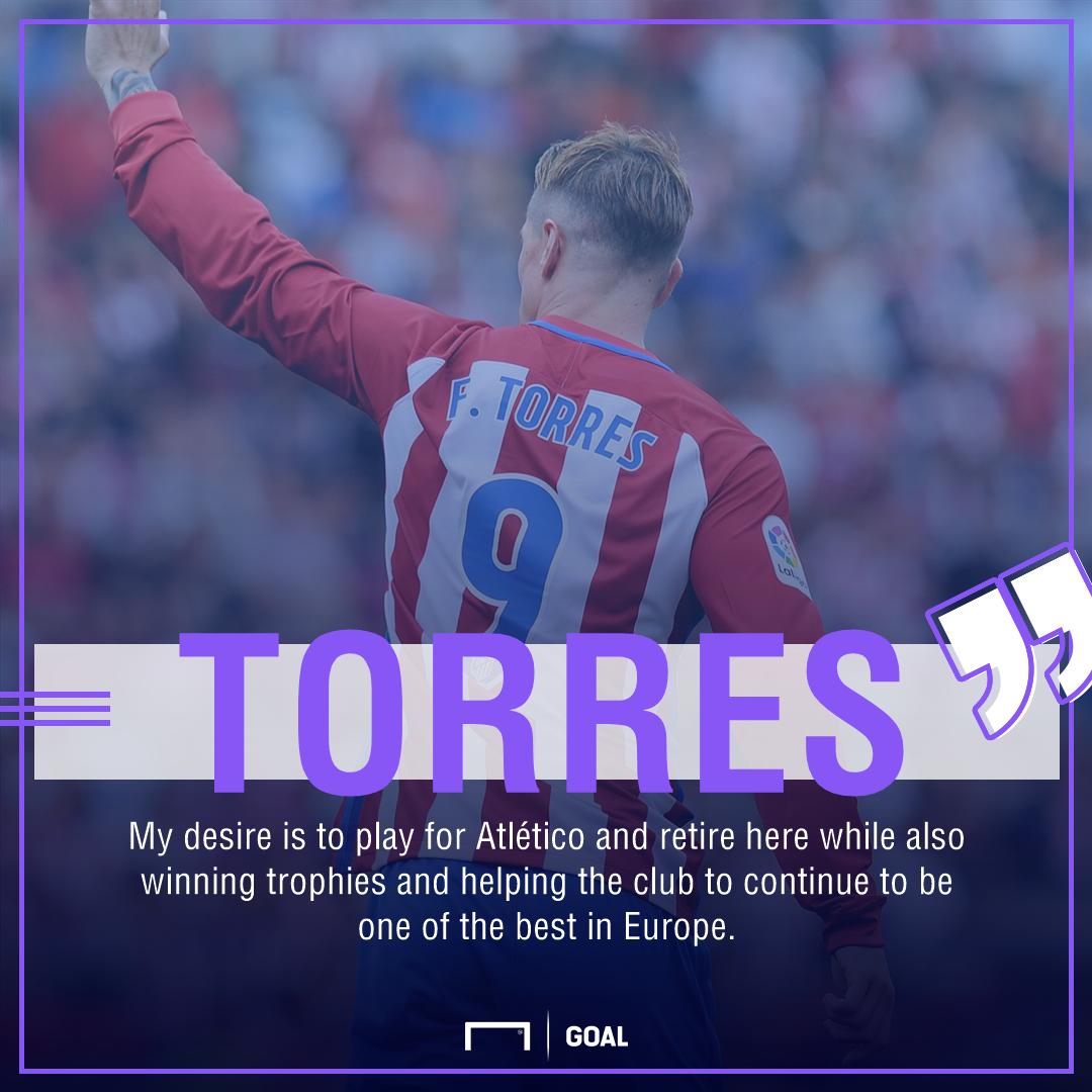 Fernando Torres Atletico Madrid retire