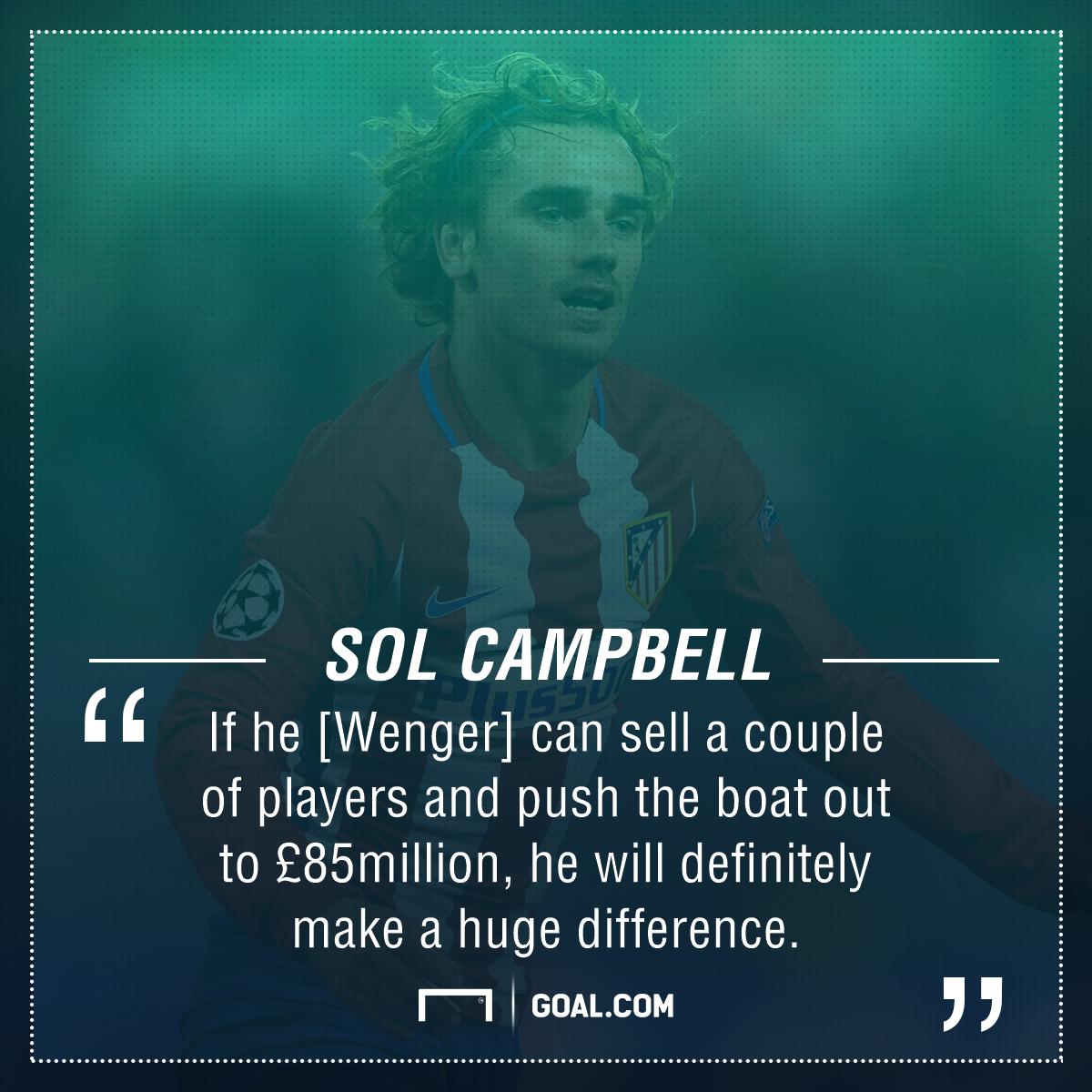 Sol Campbell Antoine Griezmann Arsenal