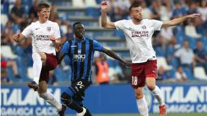 Musa Barrow Nihad Mujakic Semir Pidro Atalanta Sarajevo Europa League Qualifying Round match