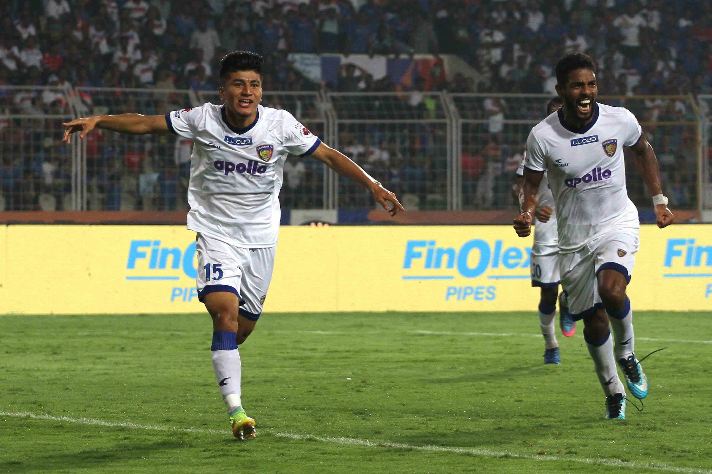Anirudh Thapa FC Goa Chennaiyin FC ISL