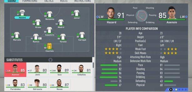 Modo Carrera FIFA 19