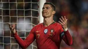 Cristiano ronaldo portugal serbia