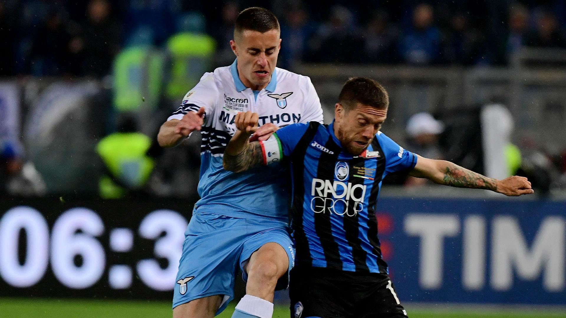 Papu Gomez Marusic Atalanta Lazio Coppa Italia