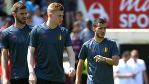 Kevin de Bruyne Eden Hazard Belgium