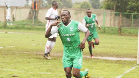 Medie Kagere celebrates Gor Mahia v Ulinzi Stars
