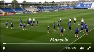 GFX VIDEO REAL MADRID TRAINING