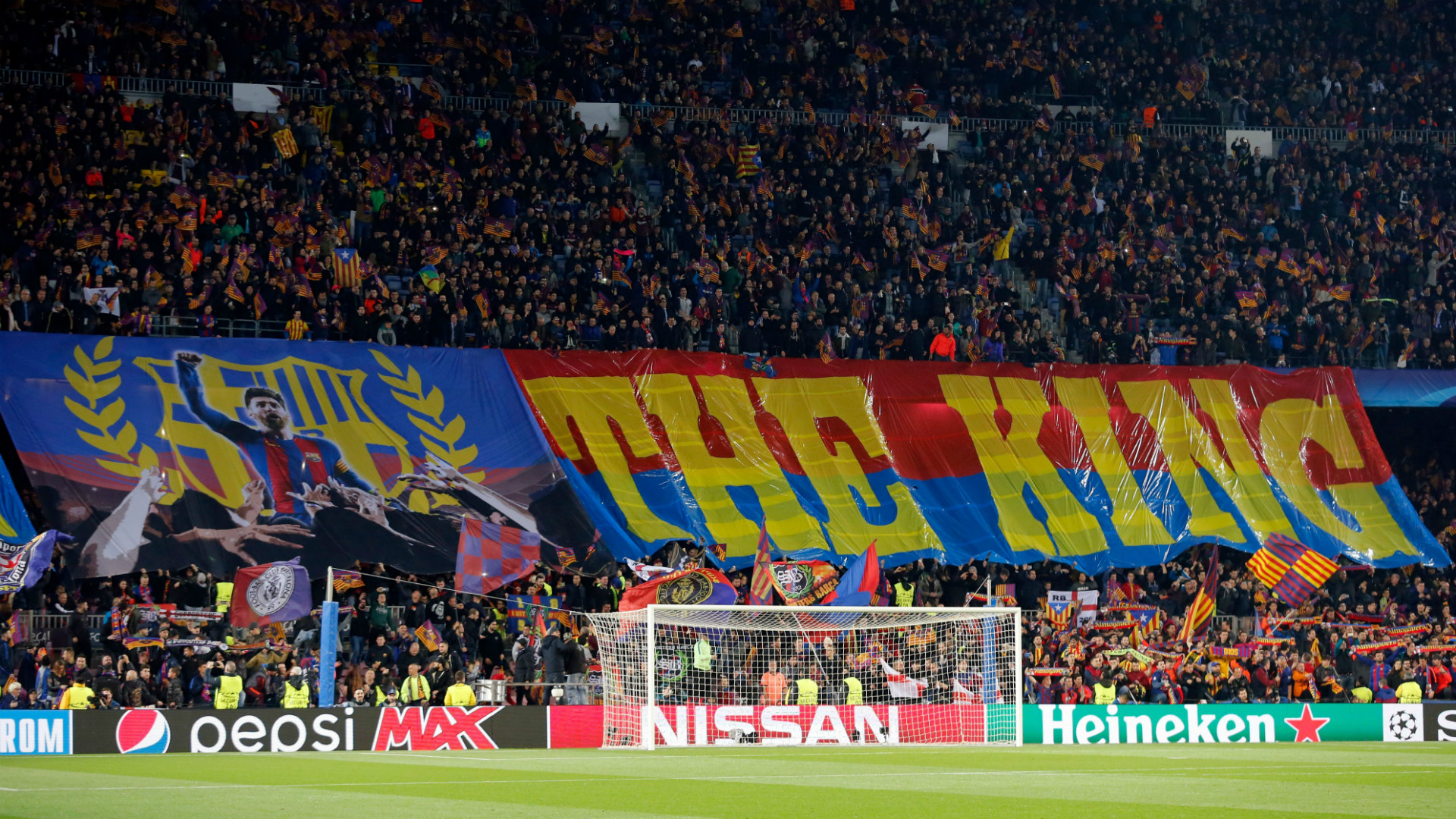 Lionel Messi King Tifo Barcelona