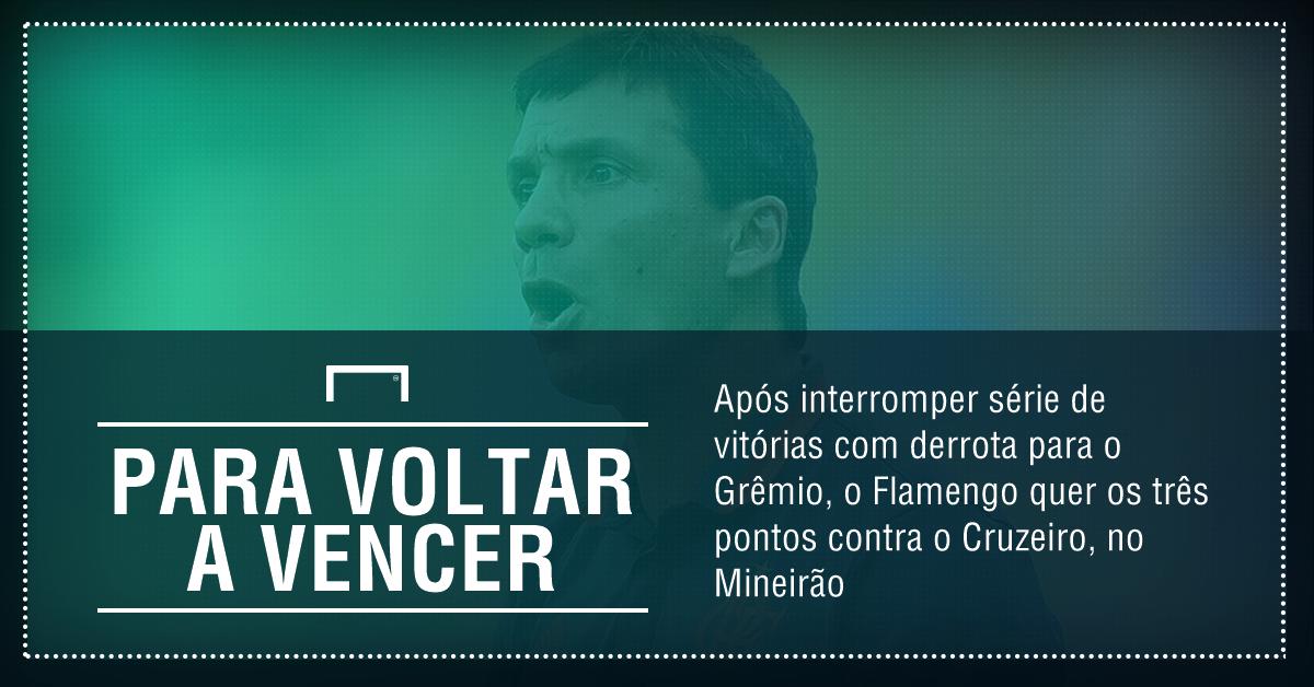 GFX Cruzeiro x Flamengo