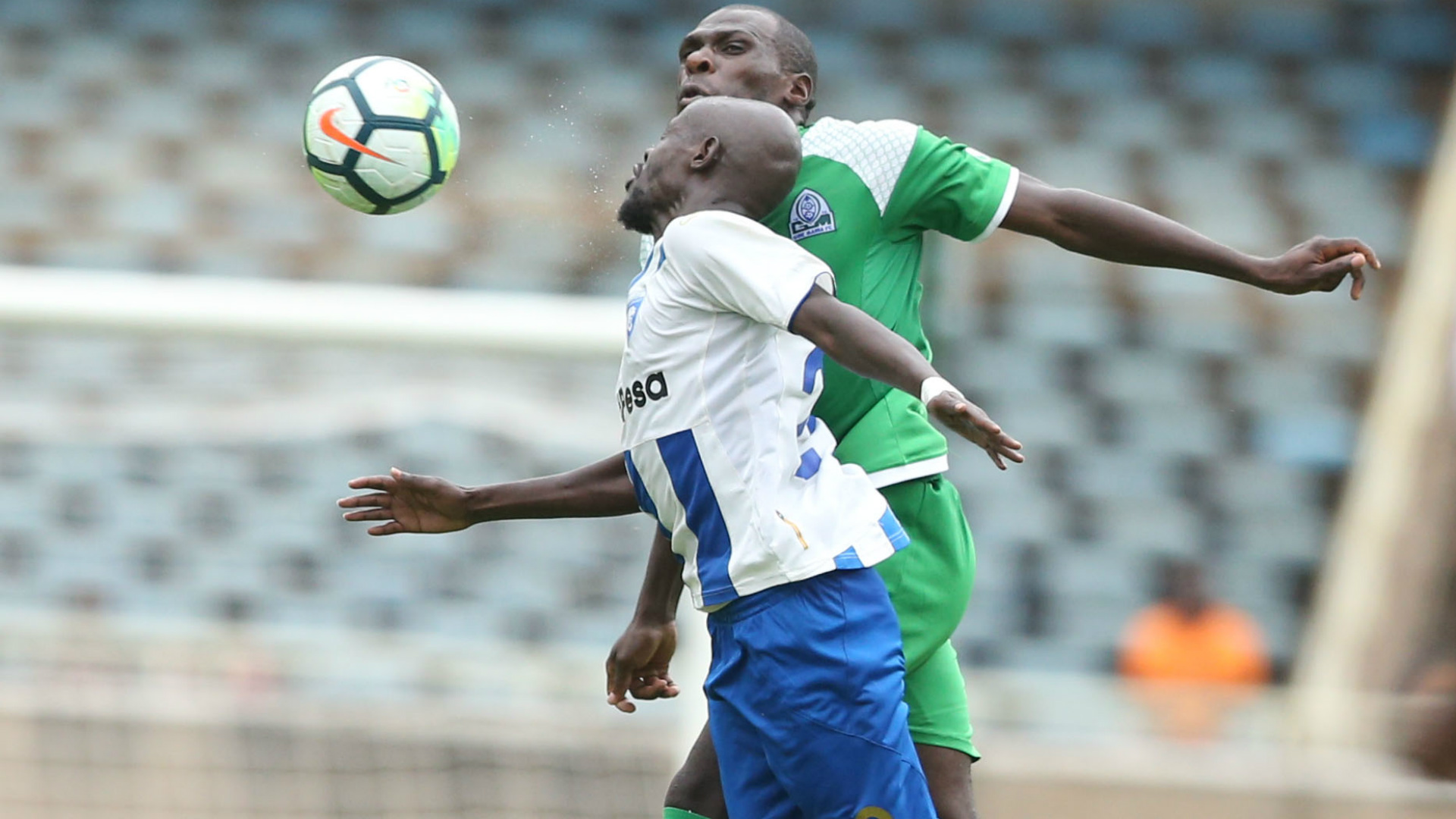 Joash Onyango of Gor Mahia v AFC Leopards.