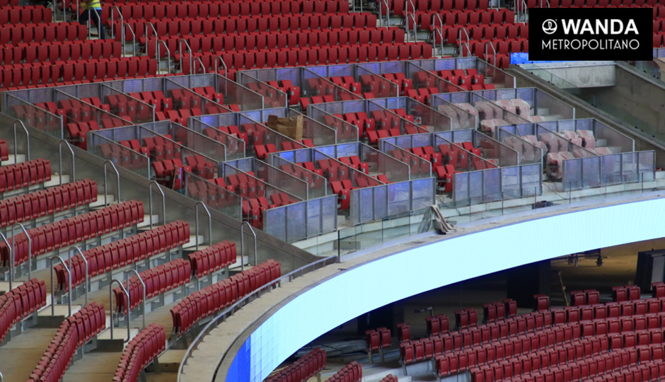 Wanda Metropolitano seats