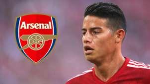 James Rodriguez Arsenal