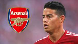 James Rodriguez Arsenal