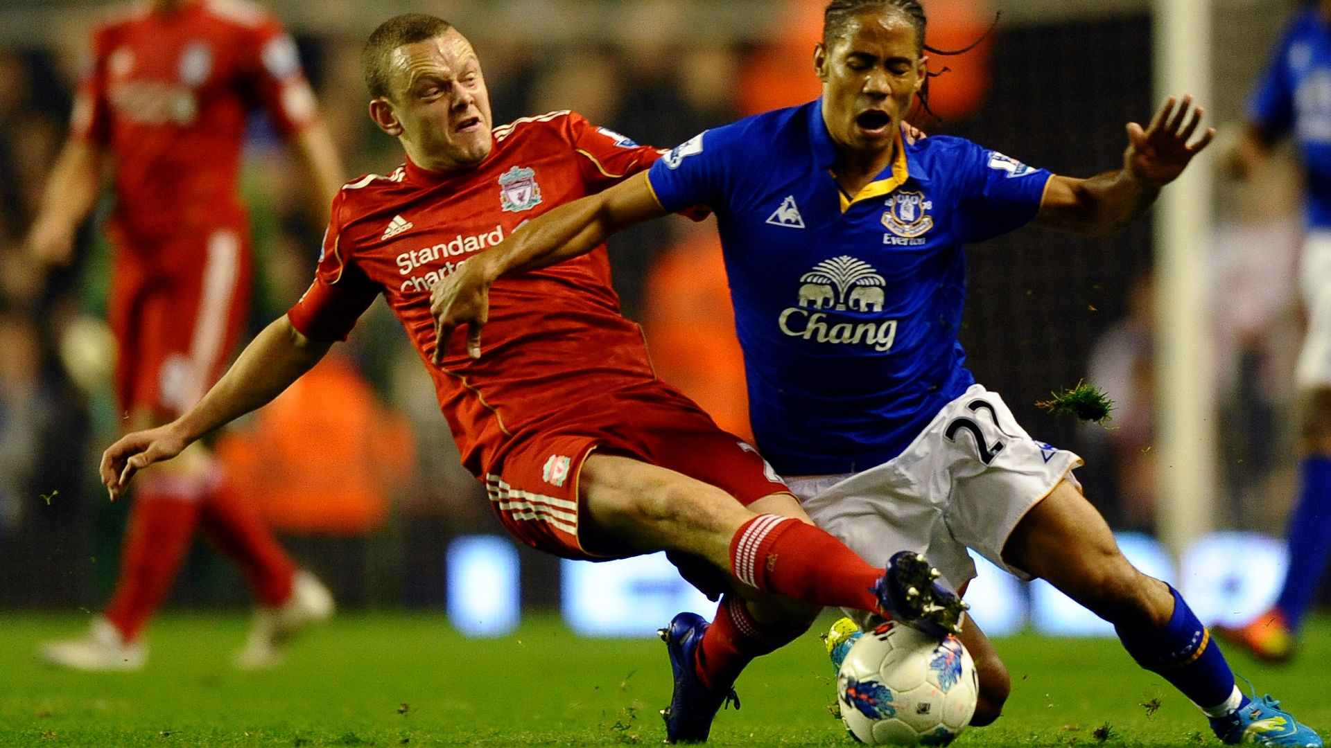 Jay Spearing Liverpool Everton