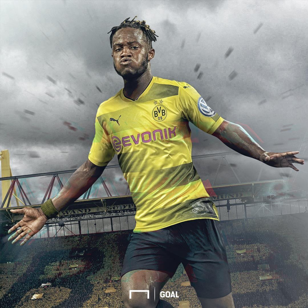 EMBED ONLY Michy Batshuayi Borussia Dortmund GFX