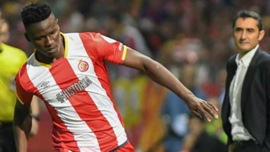 Michael Olunga of Girona FC