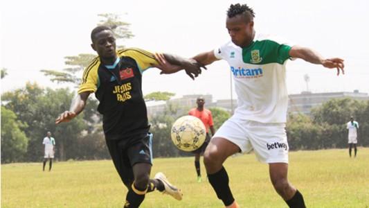 Mathare United v Kibera All Stars.