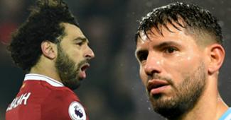 Salah and Aguero