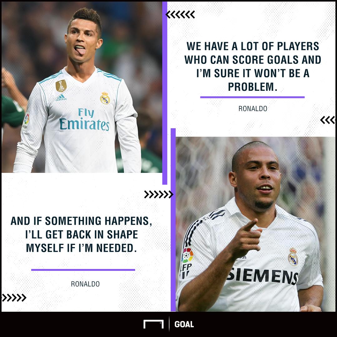 Ronaldo Real Madrid in shape