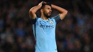 Sergio Agüero Manchester City 27042017