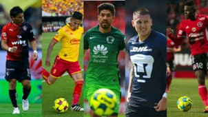 Collage Goleadores C2017 Liga MX Mexico