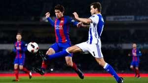 Sergi Roberto Inigo Martinez Real Sociedad Barcelona 201617
