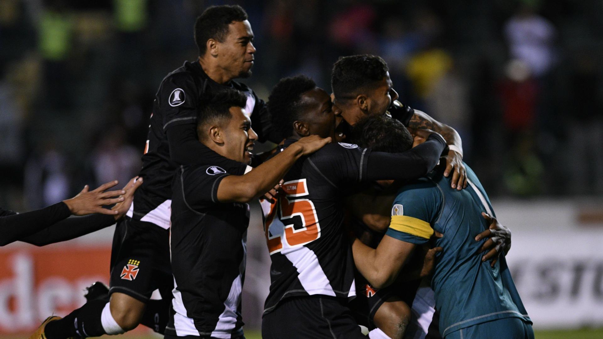 Vasco de Gama espera en Brasil a Universidad de Chile por Copa Libertadores