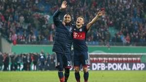 251017 Rafinha Arturo Vidal Leipzig Bayern