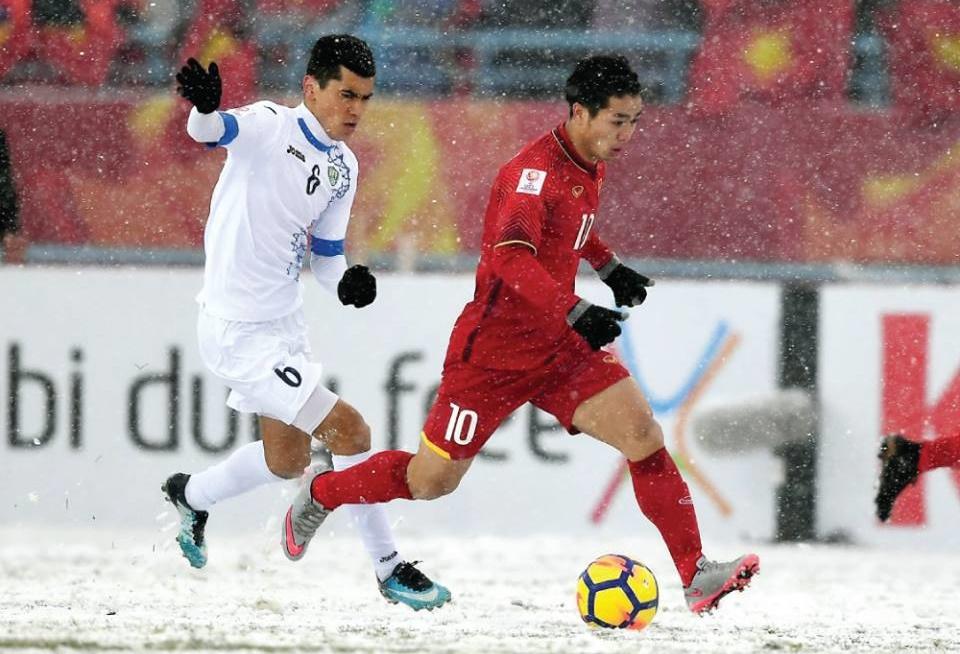 U23 Việt Nam vs U23 Uzbekistan, Công Phượng
