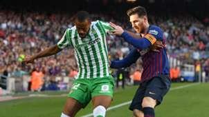 Sidnei Lionel Messi Barcelona vs Real Betis La Liga 2018-19