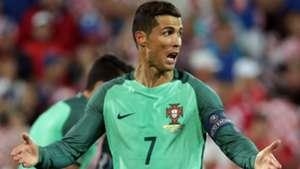 croatia portugal - cristiano ronaldo - euro 2016 - 25062016